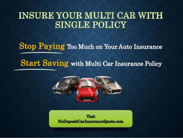 How Much Does Multi Car Insurance