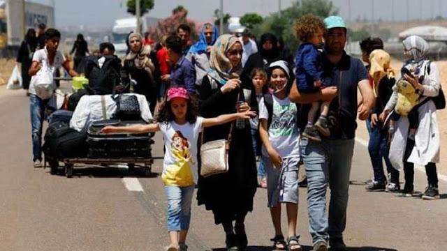 عودة دفعة جديدة من المهجرين السوريين من لبنان