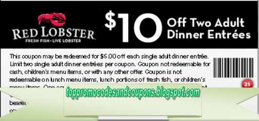 red lobster coupons online printable