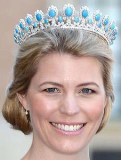 Princess Victoria Adelaide of Saxe-Coburg & Gotha Turquoise Tiara Kelly