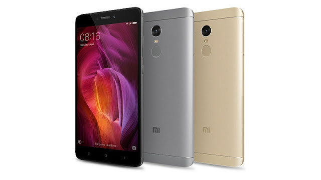 Xiaomi Redmi Note 4 Specifications - LAUNCH Announced 2017, January DISPLAY Type IPS LCD capacitive touchscreen, 16M colors Size 5.5 inches (~72.7% screen-to-body ratio) Resolution 1080 x 1920 pixels (~401 ppi pixel density) Multitouch Yes  - MIUI 8.0 BODY Dimensions 151 x 76 x 8.5 mm (5.94 x 2.99 x 0.33 in) Weight 165 g (5.82 oz) SIM Dual SIM (Micro-SIM/Nano-SIM, dual stand-by) PLATFORM OS Android OS, v6.0 (Marshmallow) CPU Octa-core 2.0 GHz Cortex-A53 Chipset Qualcomm MSM8953 Snapdragon 625 GPU Adreno 506 MEMORY Card slot microSD, up to 256 GB (uses SIM 2 slot) Internal 32 GB, 3 2/GB RAM or 64 GB, 4 GB RAM CAMERA Primary 13 MP, f/2.0, phase detection autofocus, dual-LED (dual tone) flash Secondary 5 MP, f/2.0, 1080p Features 1.12 µm pixel size, geo-tagging, touch focus, face detection, panorama, HDR Video 1080p@30fps, 720p@120fps NETWORK Technology GSM / HSPA / LTE 2G bands GSM 900 / 1800 / 1900 - SIM 1 & SIM 2 3G bands HSDPA 850 / 900 / 1900 / 2100 4G bands LTE band 3(1800), 5(850), 40(2300) Speed HSPA, LTE GPRS Yes EDGE Yes COMMS WLAN Wi-Fi 802.11 a/b/g/n, Wi-Fi Direct, hotspot GPS Yes, with A-GPS, GLONASS, BDS USB microUSB v2.0, USB On-The-Go Radio FM radio Bluetooth v4.1, A2DP, LE Infrared Port Yes FEATURES Sensors Fingerprint (rear-mounted), accelerometer, gyro, proximity, compass Messaging SMS(threaded view), MMS, Email, Push Mail, IM Browser HTML5 Java No SOUND Alert types Vibration; MP3, WAV ringtones Loudspeaker Yes 3.5mm jack Yes  - 24-bit/192kHz audio  - Active noise cancellation with dedicated mic BATTERY  Non-removable Li-Po 4100 mAh battery Stand-by  Talk time  Music play  MISC Colors Gray, Gold, Black  - XviD/MP4/H.265 player - MP3/WAV/eAAC+/Flac player - Photo/video editor - Document viewer