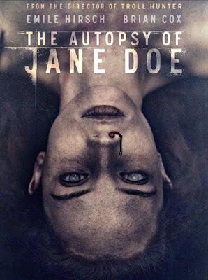 La autopsia de Jane Doe - poster pelicula