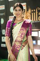 Adah Sharma looks super cute in Saree at IIFA Utsavam Awards 006.JPG