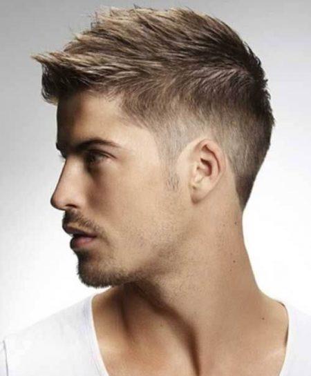 Gaya Potongan Rambut Pendek Pria Masakini NaraMedia - Gaya rambut pendek untuk wajah bulat pria
