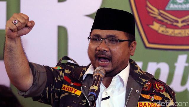 "Tanggapi Yaqut soal Banser Lawan TNI, Akun @tnilovers18: ""Candaanmu Sangat Menyakitkan Pak"""