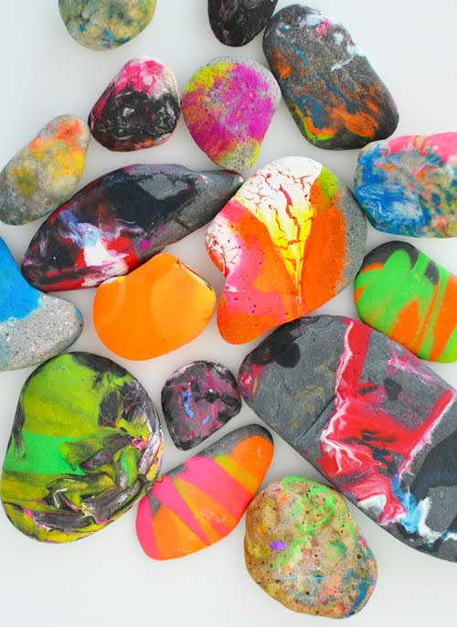 25+ Fun DIY Rock Art Projects to Try - a collection of different DIY projects to try for home or your classroom | you clever monkey