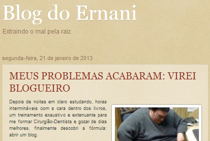 Blog do Ernani Maia, Chapadinha-MA