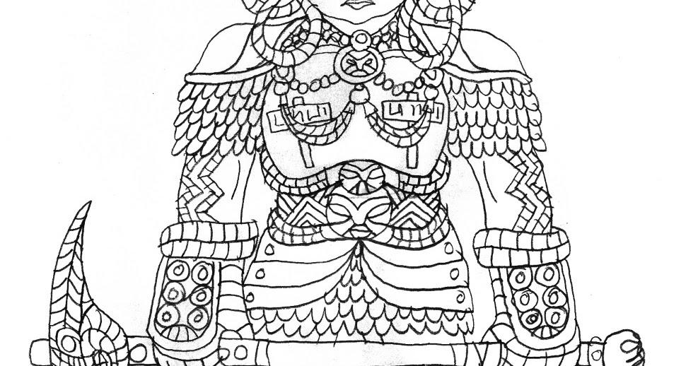 Le Chaudron Chromatique: Dwarf Warrior with ceremonial headdress.