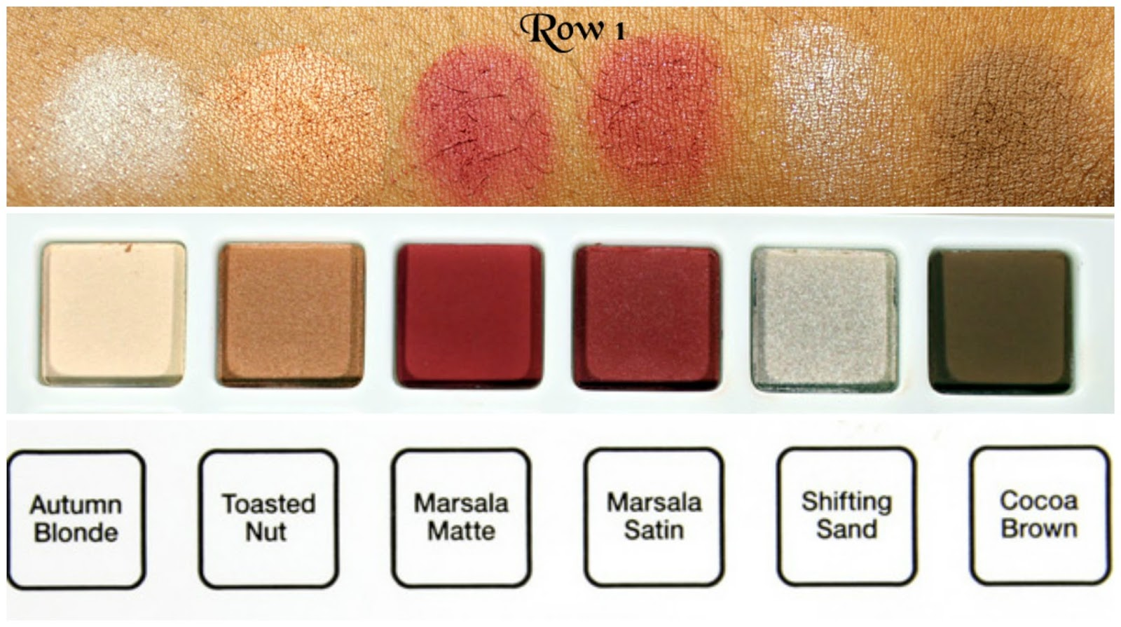 Sephora + Pantone Universe Facets of Marsala Multi-Finish Eye Palette