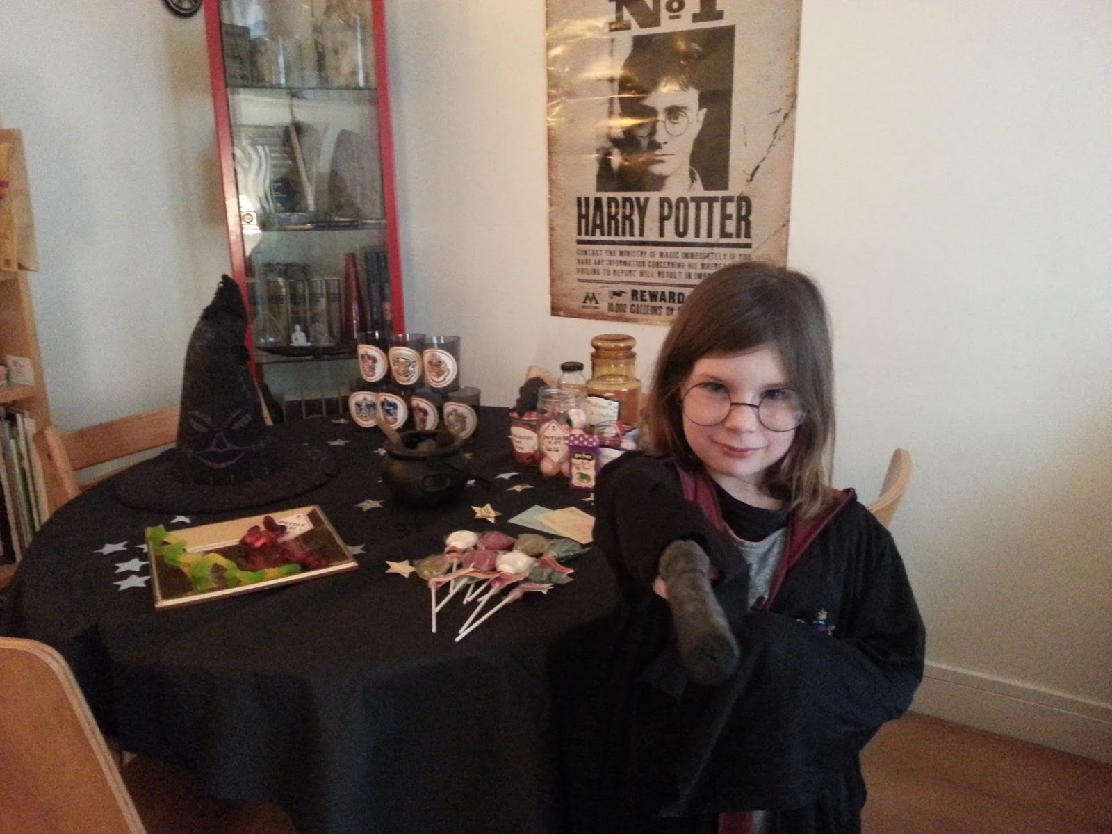 ces doux moments retour sur la harry potter party. Black Bedroom Furniture Sets. Home Design Ideas