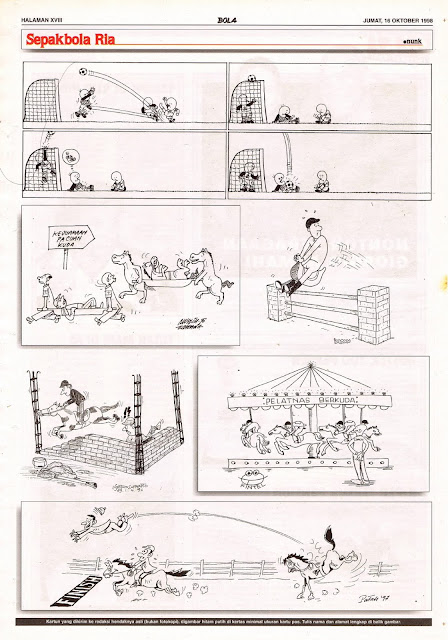 Sepakbola Ria EDISI NO. 843 / JUM'AT, 16 OKTOBER 1998