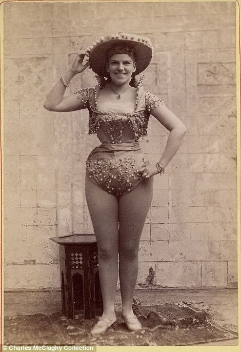 The Beauties Our Princess Diana Fashion Article For 11: Vintage Burlesque Photos From The 1890s