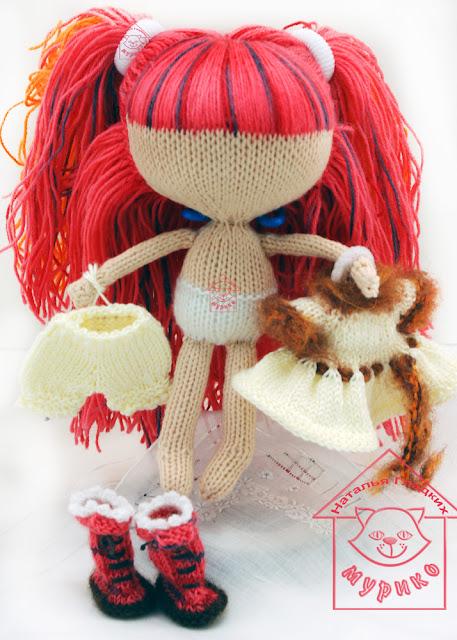 кукла, одежка, игрушка, лалалупси с волосами, своими руками, Hand Made, хенд мейд, Lalaloopsy, Мурико