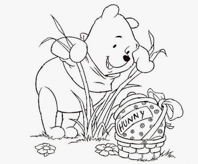 5 Easter Disney Coloring Pages