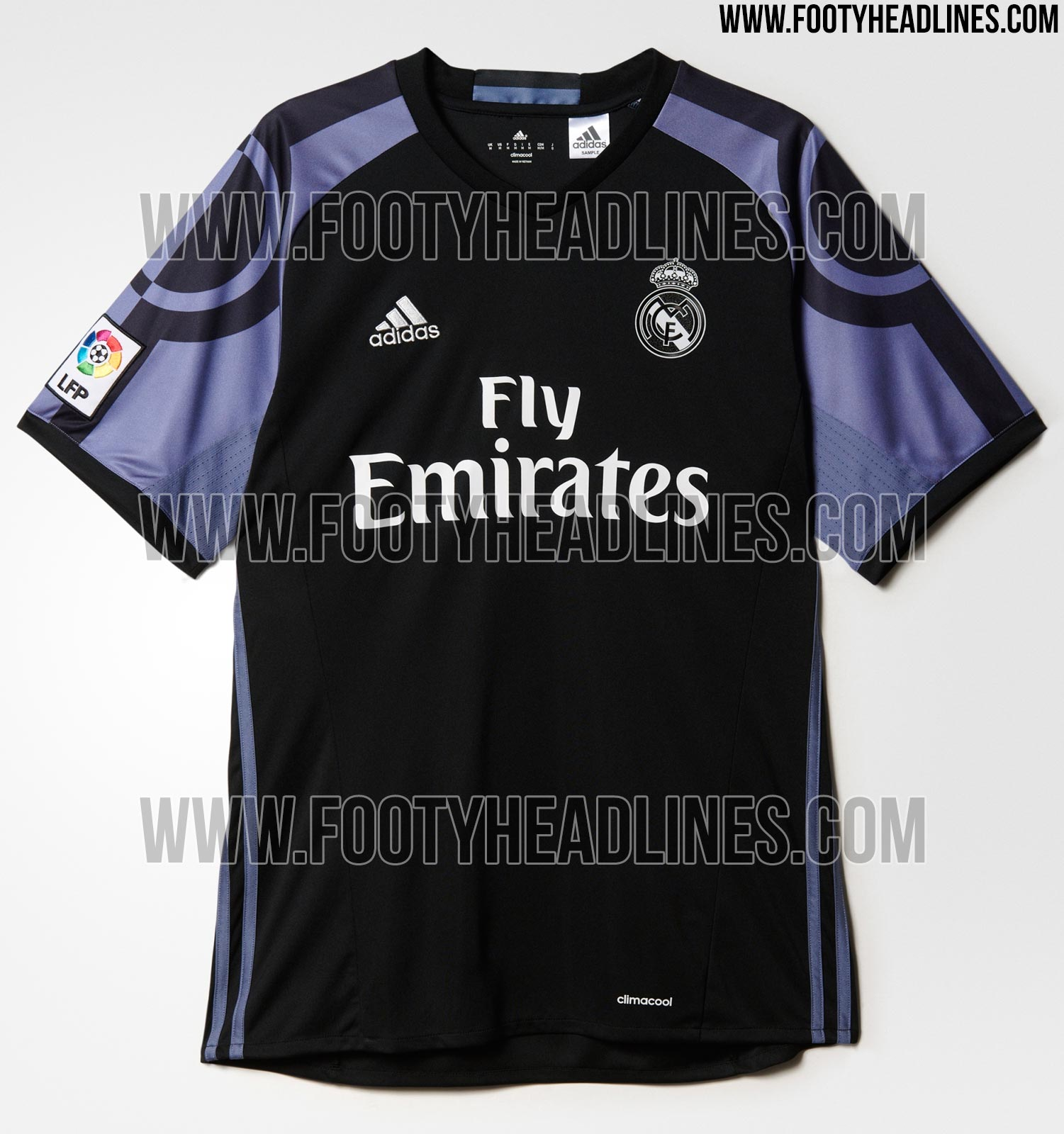 d71d02ccd5515 Camiseta suplente del Real Madrid para la Champions 16-17