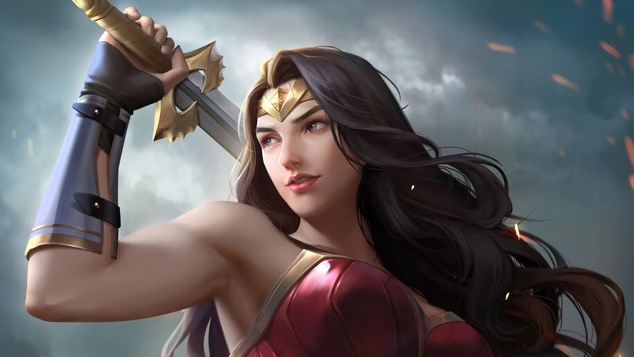 Wonder Woman, DC, Superhero, 4K, #6.1134
