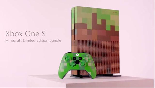 الكشف عن نسخة خاصة لجهاز Xbox One S بألوان لعبة Minecraft