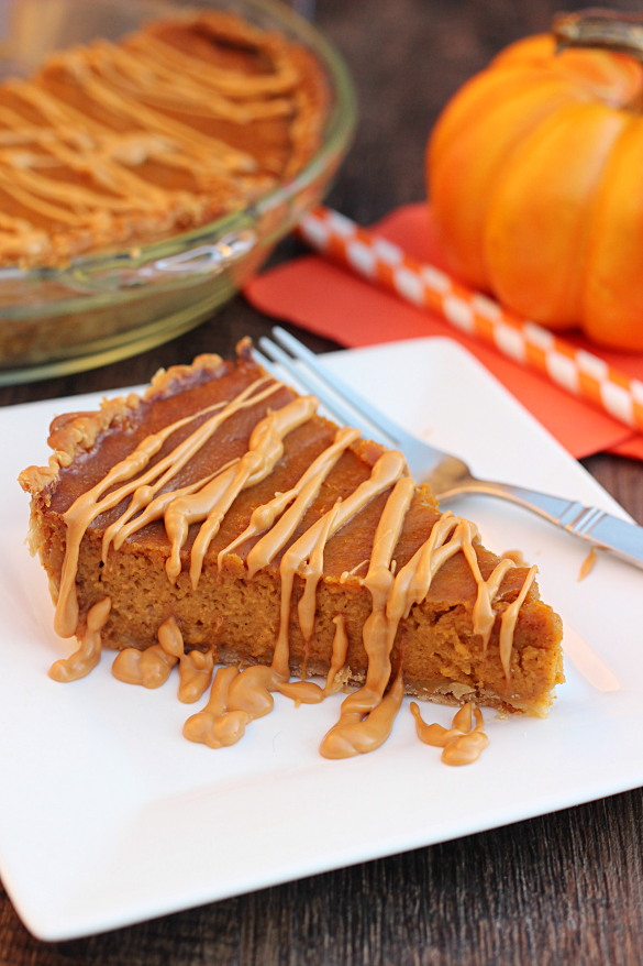 Pumpkin Butterscotch Pie Recipe — Dishmaps