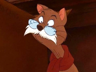 Rufus The Rescuers 1977 animatedfilmreviews.filminspector.com