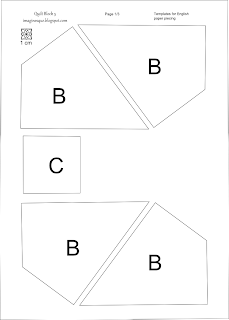 Imaginesque: Quilt Block 5: Pattern and Templates