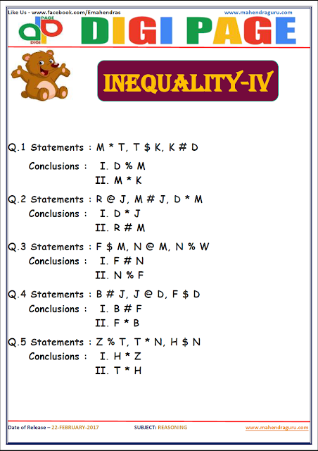 DP | INEQUALITY | 22 - FEB - 17