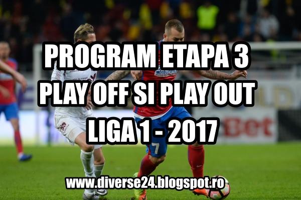 Programul ligii 1 etapa 3