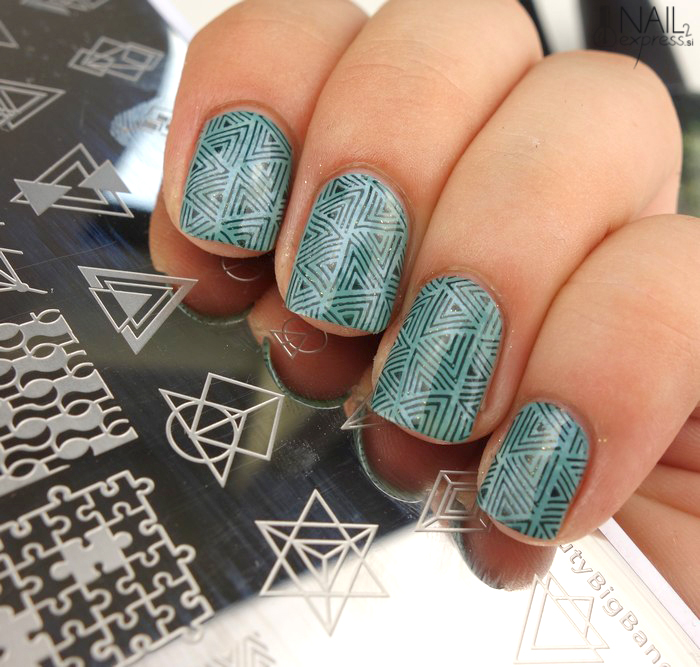 Beauty Big Bang stamping plate XL-006_manikira