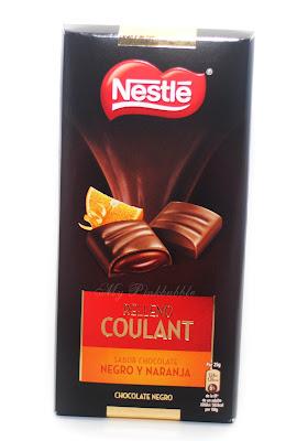 Nestlé Relleno couland negro naranja