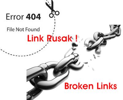 Cara Cepat Menemukan dan Menghapus Broken Link ( Link Rusak )
