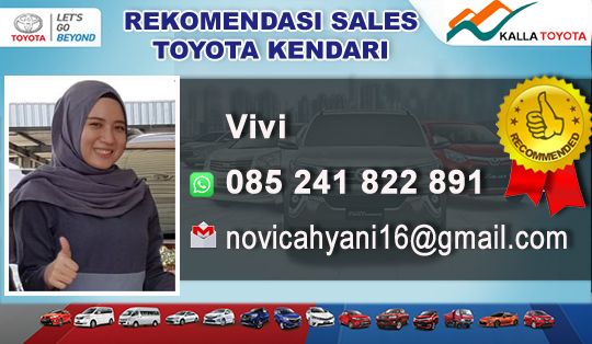 Rekomendasi Sales Toyota Hadji Kalla Kendari
