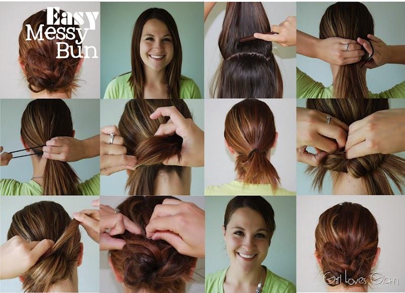 Super The Divo Diaries Hair Tutorial The Messy Bun Short Hairstyles Gunalazisus