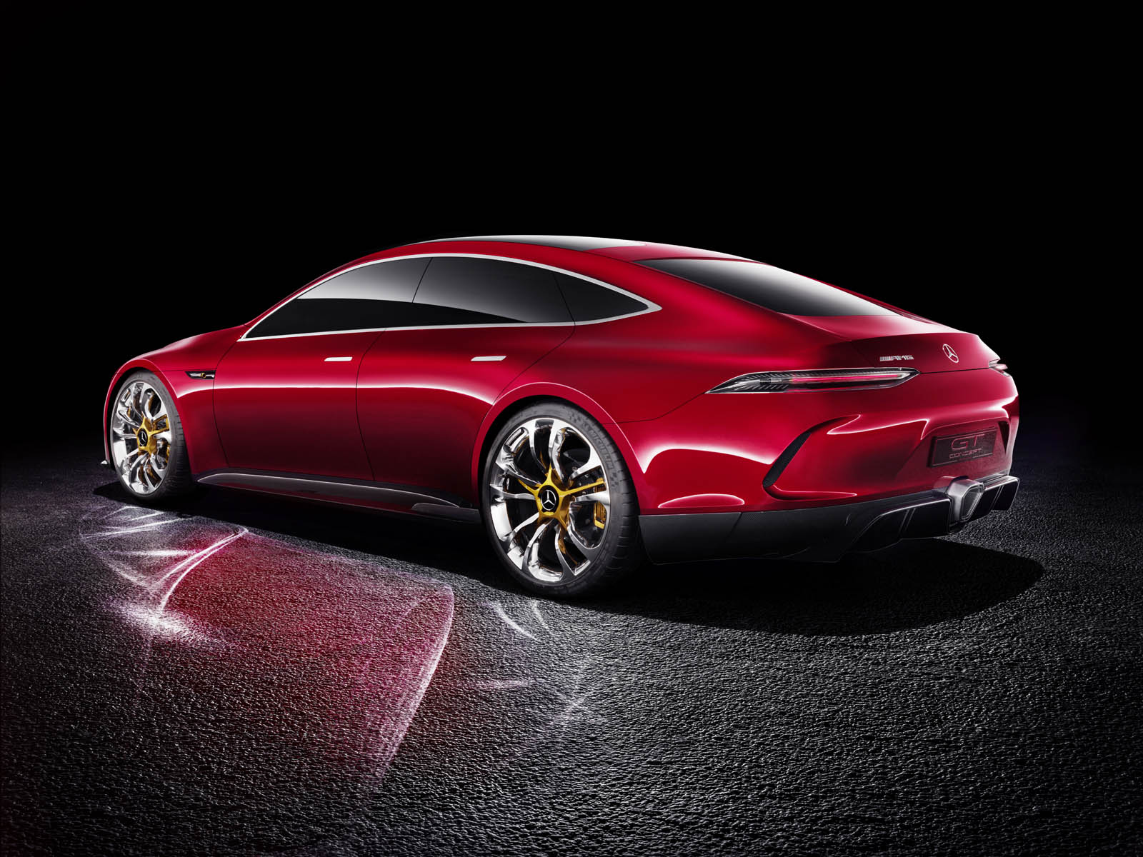 New Mercedes AMG GT Concept Previews New Performance Saloon