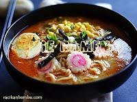Resep Mie RAMEN dari Jepang yang rasanya mengoda Lidah anda