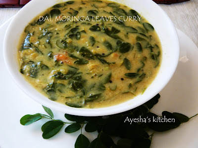 dal curry with drumstick leaves muringakka curry moringa leaves curry