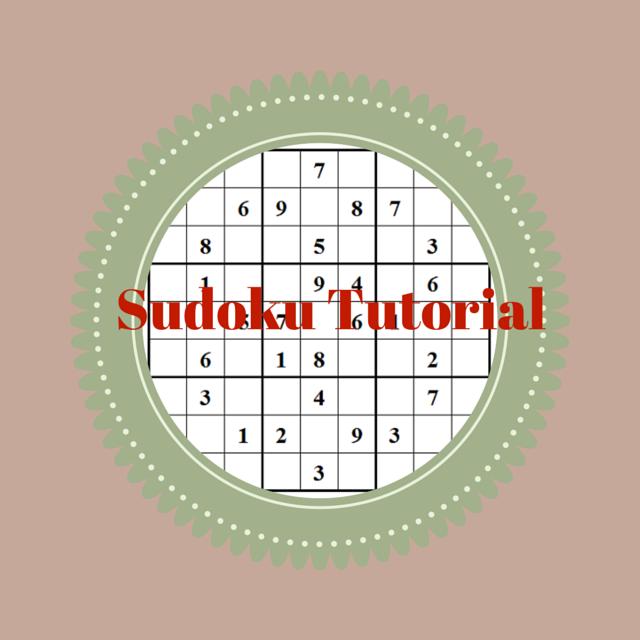 Sudoku Puzzle Tutorial by Conceptis Puzzles
