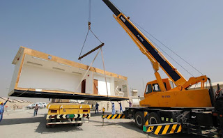 Modular construction is a good method of building fast.