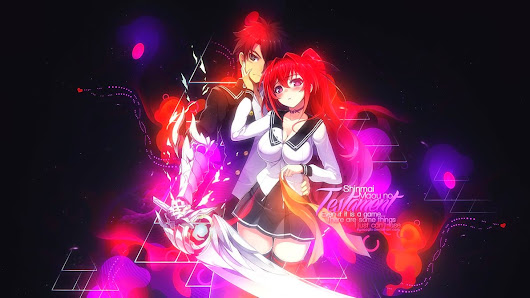 Shinmai Maou no Testament BD Batch 1 - 12 END Subtitle Indonesia | Anime Software Download