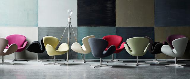 おしゃれな北欧の家具。アルネ・ヤコブセンの家具【a】 スワンチェア
