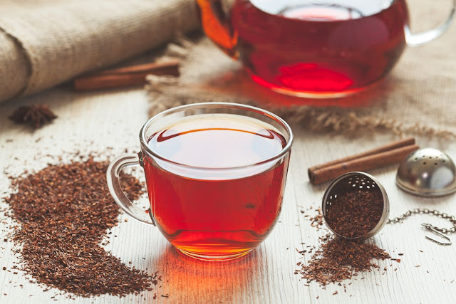 """Rooibos, which is additionally called """"Red Shrub"""" where it is native, and also red tea in the western globe is not your common tea. As a matter of fact, this beverage is not a true """"tea"""" whatsoever, as well as rather is thought about a tisane, or organic tea. What makes this beverage unique are several various things. For one, the Red Shrub plant (Aspalathus linearis), expands in just one location of the world, the Cederberg region of the Western Cape Province which is in South Africa. Second, this organic tea includes no high levels of caffeine making it perfect for individuals who are sensitive to this stimulant. What is red tea detox? An additional is that rooibos offers health and wellness benefits which researches have revealed competitors green tea. The bush looks like tall wavy yard, that when expanded to regarding waist-high is grown and processed for steeping. There are 2 kinds of rooibos; red rooibos the most typical, and also eco-friendly rooibos which is less oxidized, producing more of a green cup with even more vegetal notes being present. Likewise, study reveals that green rooibos has twice the amount of anti-oxidants than red. The interesting thing is, a number of years back rooibos was pretty much unheard of until information of its health offerings reached the western world. With providing advantages like destroying complimentary radicals, assistance keeping a well-balanced nerve system, and helping with digestive system associated concerns such as ulcers as well as irregularity, this natural reward has actually started to show up cooled in bottles on the food store shelves. Nevertheless, cooled in bottles could not be the best way to get these benefits. Tea releases all its real taste, color, aroma, and advantages when it is brewed fresh making use of loosened leaves. Rooibos is no different! What folks are obtaining when they acquire these cooled drinks are primarily sugars and also various other ingredients. Granted, rooibos remove may be presen"""