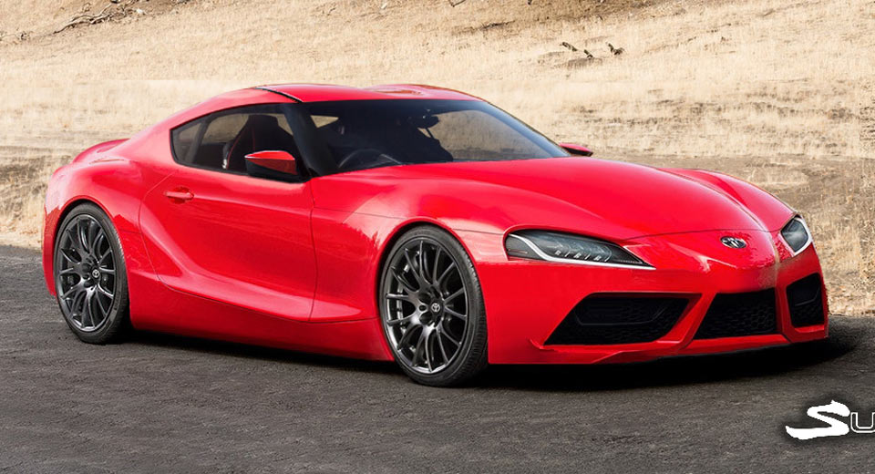 2019 Toyota Supra Realistic Cgi Fills Us With Anticipation
