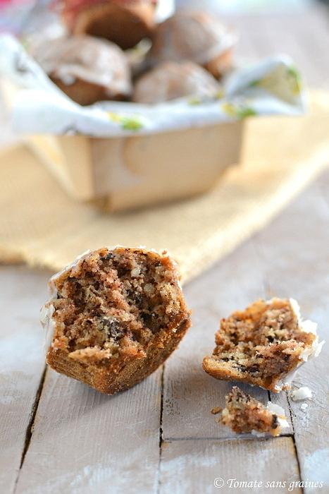 Muffins choco-amande sans gluten et sans lactose