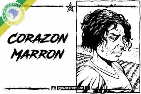 Personagem Oficial Brasileiro: Corazon Marron