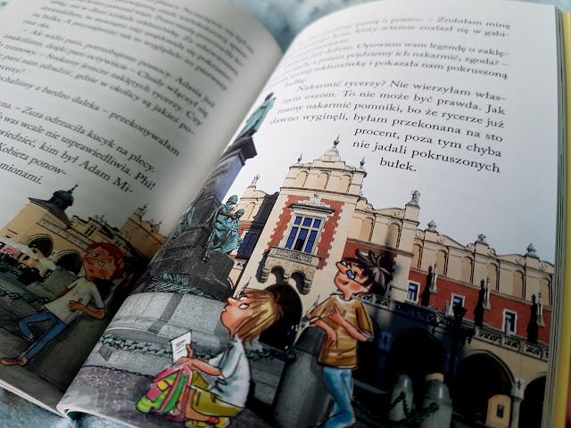 Tajemnica krakowskich pocztówek - Beata Sarnowska - Wydawnictwo Skrzat - książeczki dla dzieci