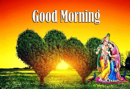 Radhe Krishan Good Morning Photo