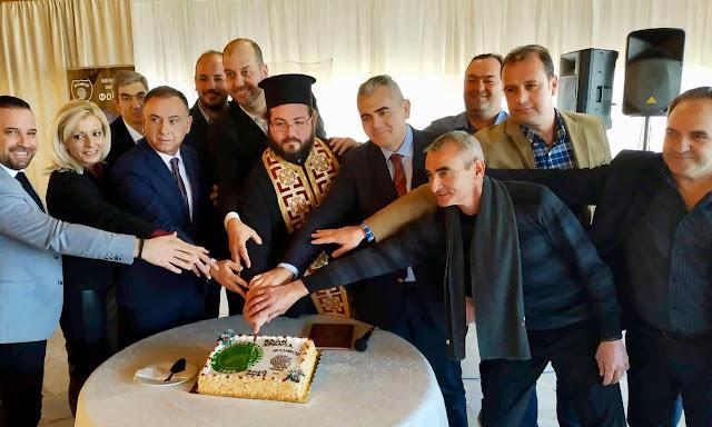 """Μ. Χαρακόπουλος στη Γιάννουλη: """"Ο ερασιτεχνικός αθλητισμός επιτελεί κοινωνική αποστολή!"""""""