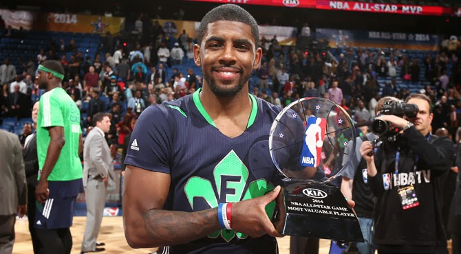 NBA: Kyrie Irving, MVP del All Star Game 2014 y mejor MVP de la historia de la NBA
