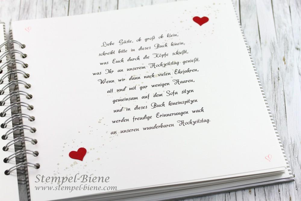 Stempel Biene Gastebuch Zur Hochzeit