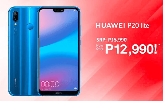 Huawei P20 Lite Drops Price to Php12,990