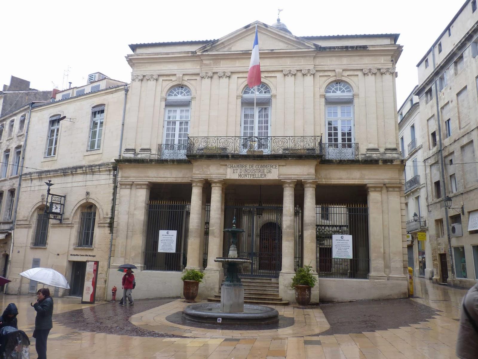 Cámara de Comercio de Montpellier.