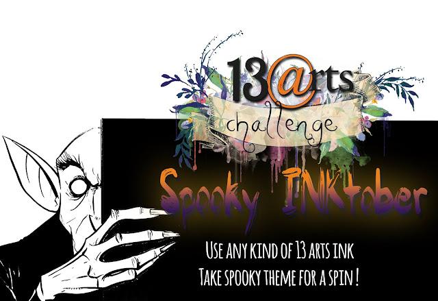 Challenge #59 Spooky INKtober